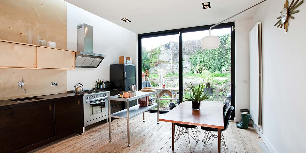 courtyard extension dublin 8 bright designs architects